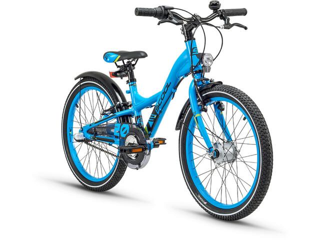 s'cool XXlite 20 3-S Børnecykel alloy blå (2019) | City-cykler